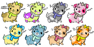 Pastel dog adopts|check description for new prices by xXfrosted-lightsXx