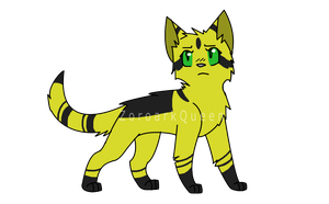 Warriors OC .: Finchtail :. by ZoroarkQueen