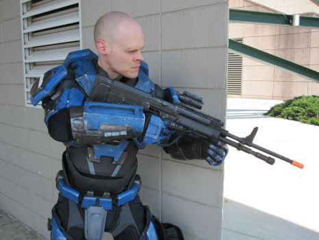 Halo cosplay. Mjolnir armor MK5 A by philorion7