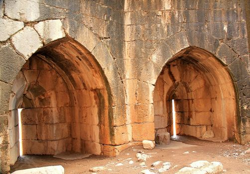 Arched ruins 2 by yasminstock