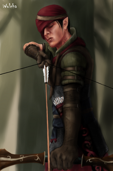 Commander Iorveth by Wolchenka