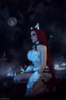 LoL - Kitty Cat Katarina by MilliganVick
