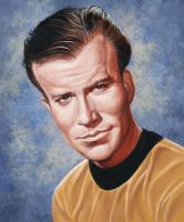Captain Kirk by markdraws
