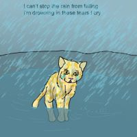 3. Can't Stop the Rain by Amberstarthunder