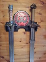 Conan the Barbarian Swords Wall Plaque by ansiaaa