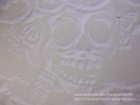 Embossing example by DianaGarridoArt