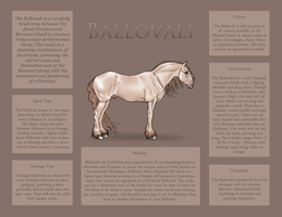 Ballovali Breed Sheet by Ehetere