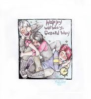 Happy birthday Gerard Way by dragon-flies