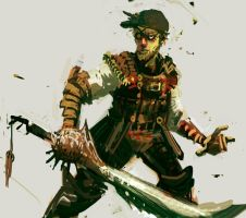 Samurai Slayer by hungerartist
