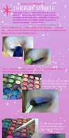 Twilight Sparkle Makeup Tutorial by AlliesInTheSewers