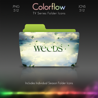 Colorflow TV Folder Icons: Weeds by Crazyfool16