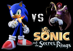 Sonic VS Erazor Djinn - Sonic and the Secret Rings by BingotheCat