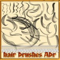 hair brushes by roula33