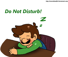 Dont Disturb Luigi by MariobrosYaoiFan12