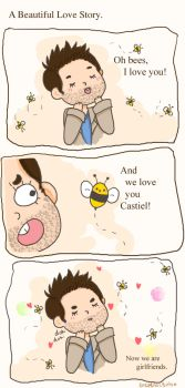 The Bees and Cas by GeneralButts