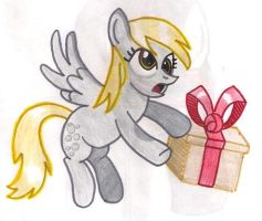 derpy sends you a gift by shinkuma