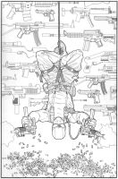 GI JOE ORIGINS 8 line art by gatchatom