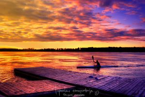 Poem of the Danube rower by Piroshki-Photography