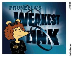 Prunella Weakest Link Logo by BakerChemi