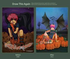 Draw This Again - Trick or Treat by Torheit-die-Katze