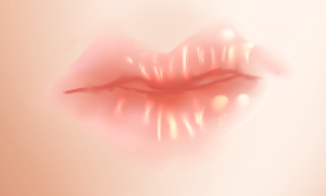Lips WIP by TheCartoonLife