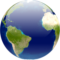 An Earth icon by Xintongeography