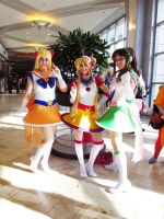 Sailor Scouts by archangelselect