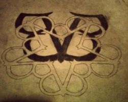 Black veil brides logo by xSCARFAC3x