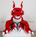 Guilmon:::::: by Witchiko