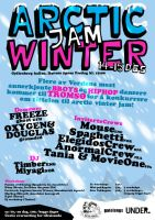 Arctic Winter Jam - Poster by lg2