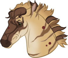 Commission: Snjorrir Foal #182 for SWC-arpg by sazzy-riza