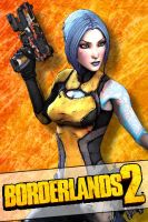 Borderlands 2 Iphone skin - Maya (pack3) by mentalmars