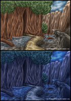 Na-Nal: Elves Tree - Suikoden IV (Colored Version) by ReaperFFseven