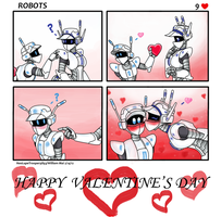 Robots- Happy Valentine's Day! by WMDiscovery93