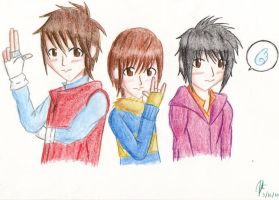 Keito, Chinen and Daiki by JAPAN728