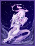 Mewtwo and Mew by TheBeastMaster