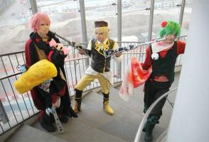 Charlotte, Gertrud And Mami Cosplay - FIGHT by DakunCosplay