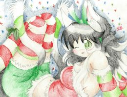 Christmas Themed~! :D by foreverbluejeans
