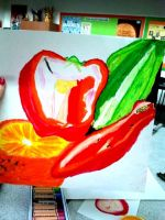 Dissection of fruit project 2 by Angel-Tara-818