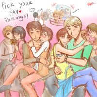 Pick One Couple!! by aphin123