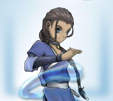 Katara by Nazgullow