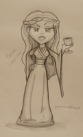 Queen Cersei Lannister of Casterly Rock by JediPinkiePie