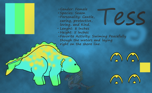 Tess ~Ref by OrcaStar31