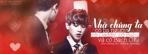 [ EXO Quotes | 1st project ] ChanBaek by Emilybbz