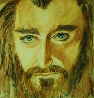 Thorin Oakenshield by YvyB13