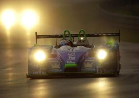 Le Mans Night Rain by DaveAyerstDavies
