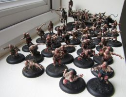 Horde of braindead undead by maxxev