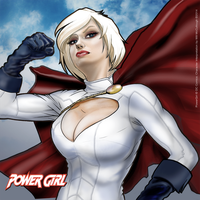 Power Girl by wmccullough1