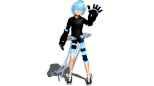 MMD Newcomer - Cyber Wish by Kikami101