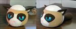 Angry birds style Grumpy cat! by Poodlecat